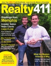 Realty411 Magazine Real Estate Inve...