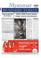 Myanmar Business Today - Vol 1, Iss...
