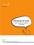 Vol1: Managing The Hype - The Reality of Mobile in Canada