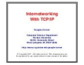 InternetWorking With TCP\IP