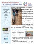 Rio+20 Newsletter: High-level Meeting of the General Assembly on Desertification, Land Degradation and Drought
