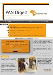 PAN Digest: Volume3 issue1