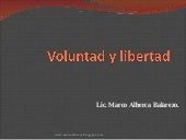 Voluntad Y Libertad