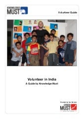 Volunteer in India - A Guide by Kno...
