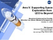 Ares V: Supporting Space Exploratio...