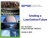 Creating a low carbon future by Von...