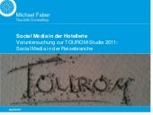 Social Media in der Hotellerie