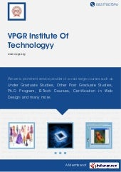 Vpgr institute-of-technologyy