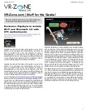 VR-Zone Tech News for the Geeks Nov...