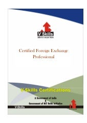 Certified foreign exchange professi...