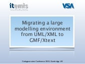 Migrating a large modelling environ...