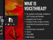 VoiceThread at CSU Channel Islands