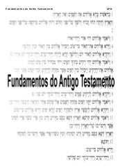 Fundamentos do Antigo Testamento