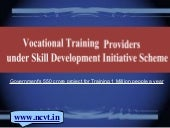 Vocational Training Providers (VTPs)