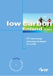 VTT Visions: Low Carbon Finland 2050