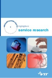Highlights in service research