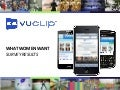 Vuclip What Women Want-Mobile Video Survey