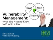 Vulnerability Management: What You Need to Know to Prioritize Risk