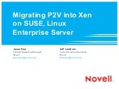 Migrating P2V: SUSE Linux Enterpris...
