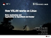 How VXLAN works on Linux