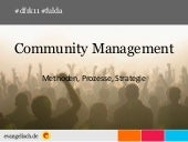 Community Management im Kontext von...