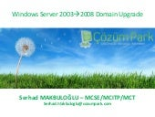 Windows Server 2003 to Windows Serv...