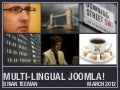 Joomla The Multilingual Web – The Way Ahead