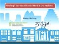 Finding your online champions for tourism