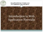 Web Application Firewall intro