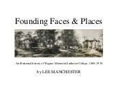 Founding Faces & Places