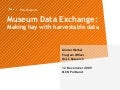 Museum Data Exchange