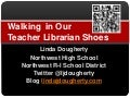 Walking in our teacher librarian shoes