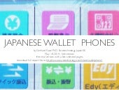 Japanese wallet phones