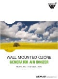 Wall Mounted Ozone Generator Air Ionizer by ACMAS Technologies Pvt Ltd.
