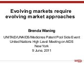 Evolving markets require evolving m...