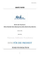 Ward wise top issue white paper