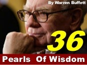 Warren Buffet- Pearls of Wisdom