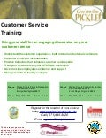 Warren Clarke County Customer Service Training