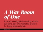 Create A Great Social Media War Room