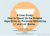 2008 : A Case Study: How to Speed U...