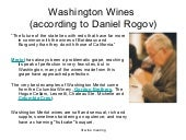 Washington Wines