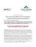 AALU Washington Report: FICA Taxes & Nonqualified Deferred Compensation Plans - Fulcrum Partners, LLC