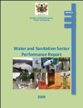 Water and Sanitation Sector  Perfor...