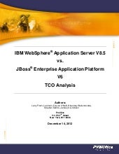 WebSphere Application Server JBoss ...