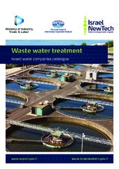 WATEC ISRAEL 2013, Israeli water co...