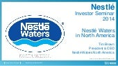 Nestlé Waters in the USA