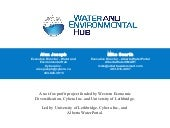 Water and Environmental Hub - CWRA ...