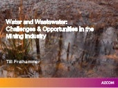 Water and Wastewater: Challenges & ...