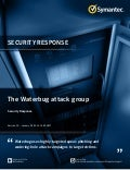 WHITE PAPER▶ Symantec Security Response Presents:The Waterbug Attack Group