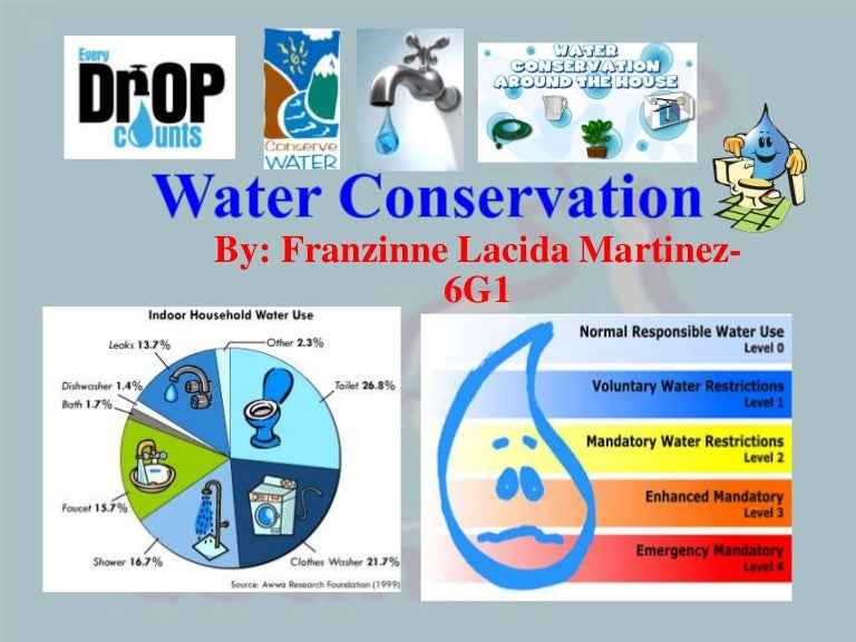 conservation of water pdf